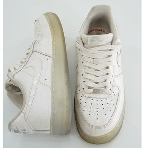 Nike Air Force 1 '07 Premium Low Clear Soles Shoes
